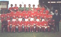 Man U . Man United squad in 1970