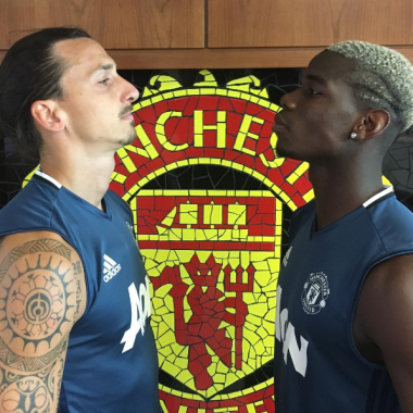 pogba-r-ibrahimovic-l-in-a-stare-down-pose-at-old-trafford